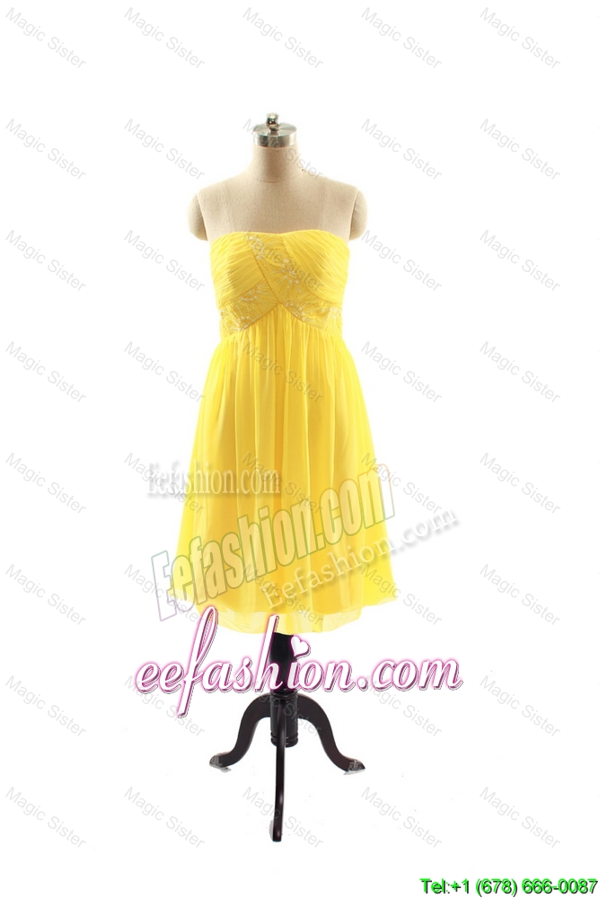 Yellow Prom Dresses For 2016 114