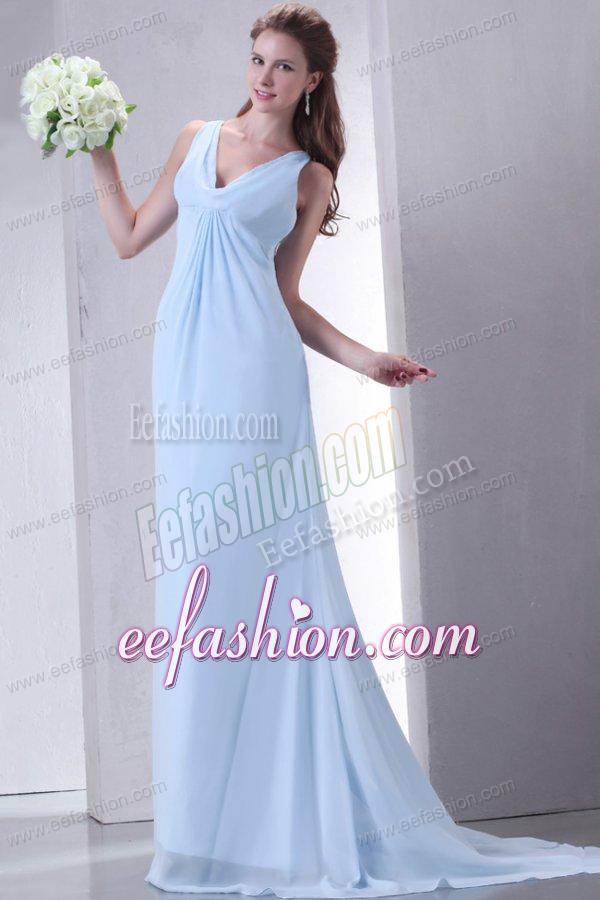 Cheap Prom Dresses Light Blue 75