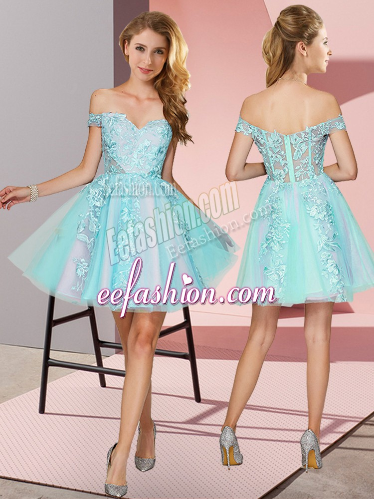 Admirable Sleeveless Zipper Mini Length Lace Quinceanera Court Dresses