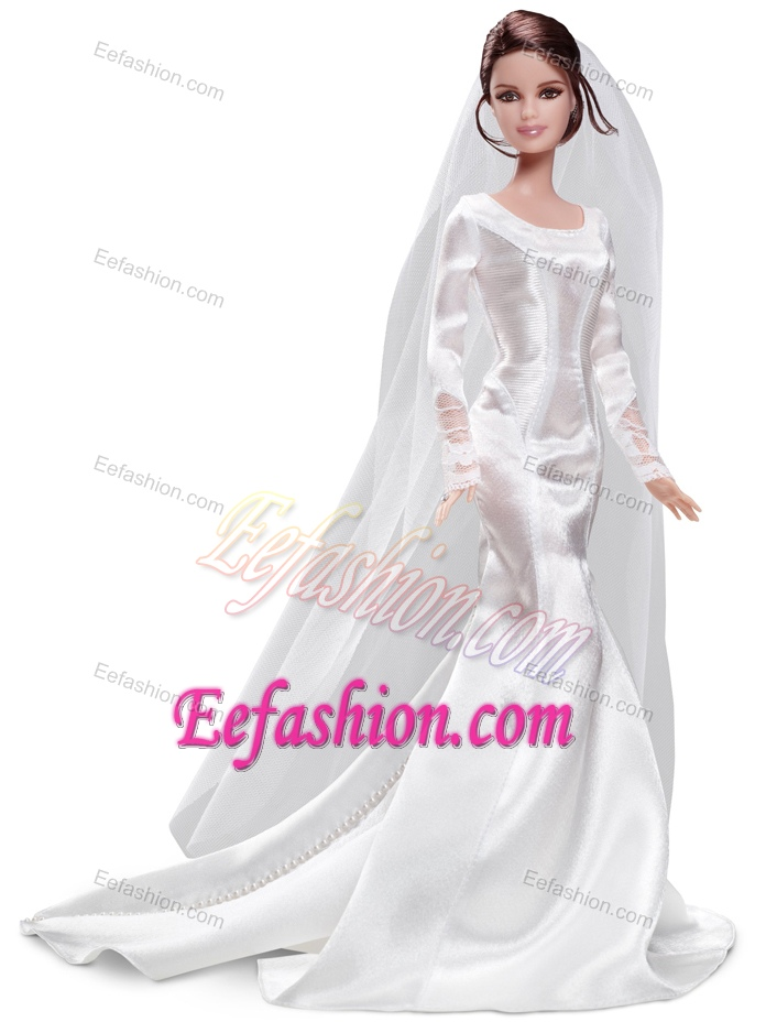 Home gt accessories gt barbie doll dress gt elegant handmade white barbie