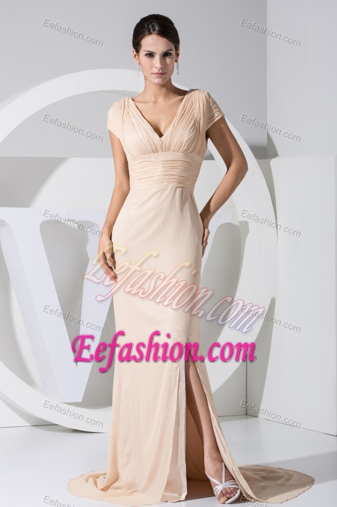 Elegant Mother Bride Dresses Champagne Other Dresses Dressesss