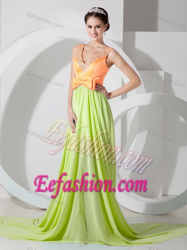 Yellow And Green Prom Dresses 58