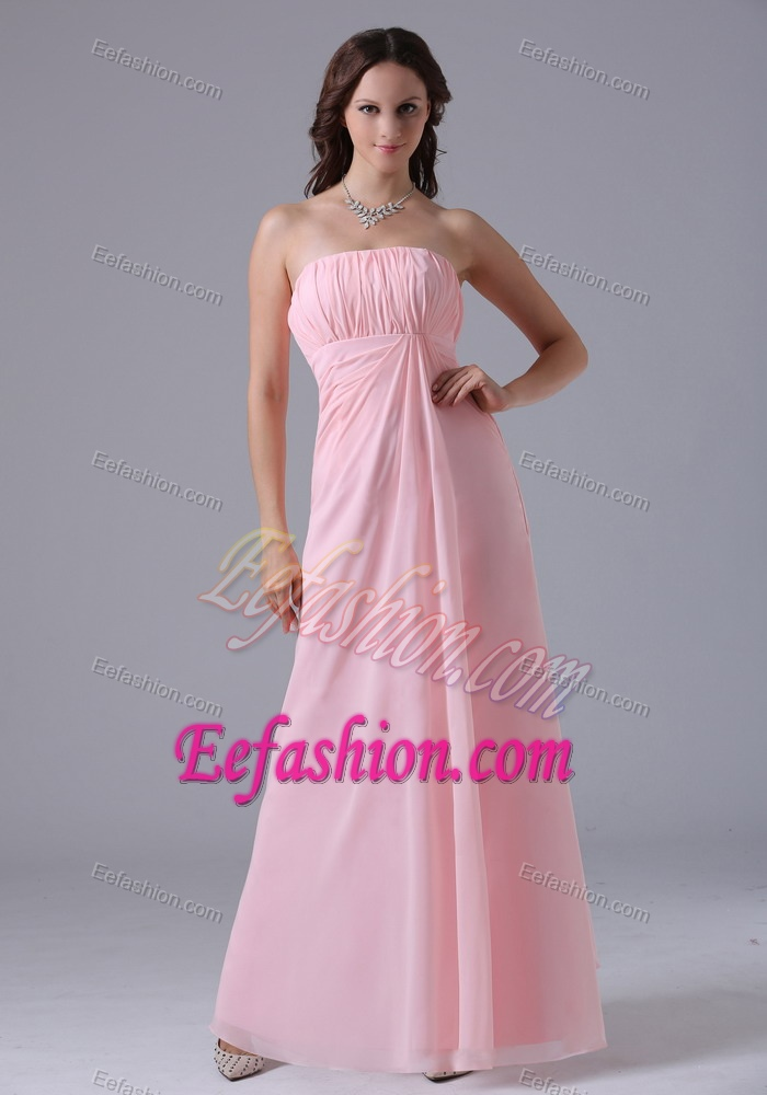 Bridesmaid Dresses  gt  Pretty Baby Pink Ruched Maternity BridesmaidBaby Pink And Black Bridesmaid Dresses