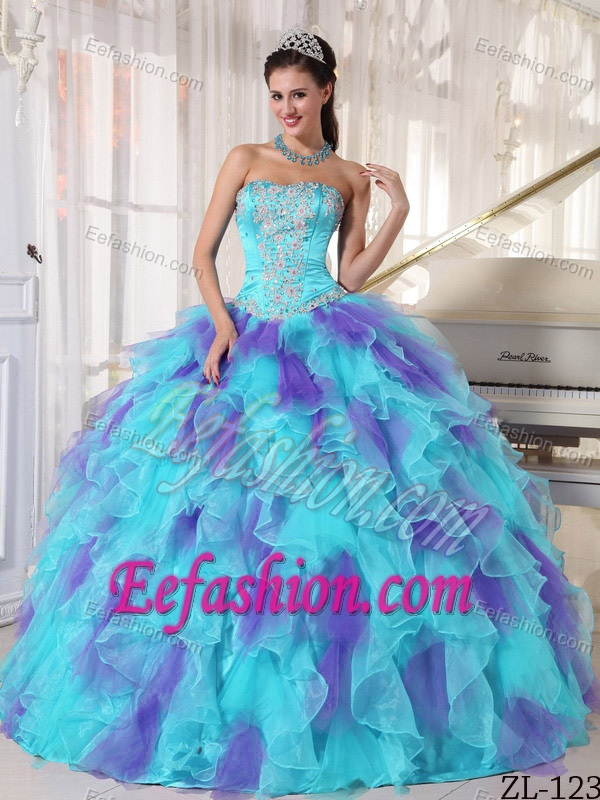 Puffy Quinceanera Gowns 2017
