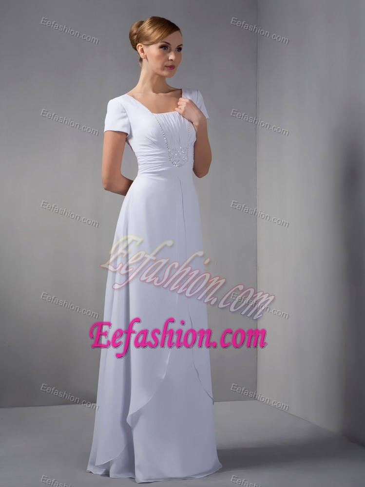 fashion square wedding dresses