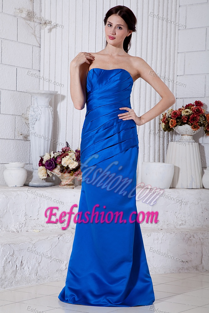 Wedding Guest Dresses Beautiful Royal Blue Strapless Wedding Guest