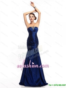 2015 The Super Sexy Strapless Mermaid Prom Dress with Beading