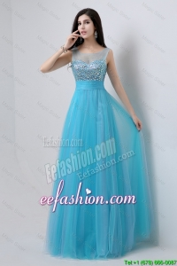 Pretty Sweetheart Tulle Prom Dresses with Beading