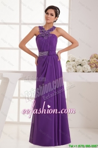 Cheap Empire Straps Prom Dresses with Beading