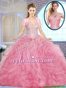 Popular Ball Gown Sweetheart Quinceanera Dresses for 2016