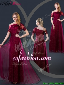Perfect Empire Appliques Prom Dresses with Asymmetrical for 2016