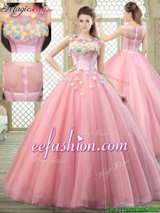 New Style Scoop 2016 Prom Dresses with Zipper Up
