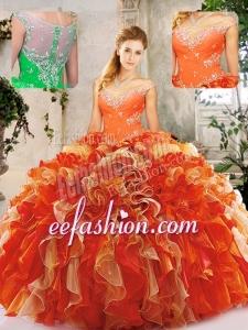2016 Popular Beading Quinceanera Dresses in Multi Color