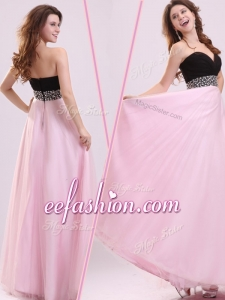 2016 Cheap Empire Sweetheart Beading Prom Dress in Baby Pink