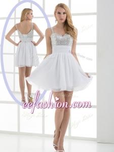 2016 Cheap Sequins Short Prom Dress for Graduation