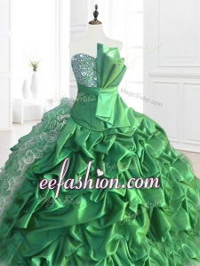 New Arrivals Sequins and Ruffles In Stock Quinceanera Dresses with Pick Ups