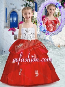 Best Spaghetti Straps Mini Quinceanera Dresses with Appliques and Beading