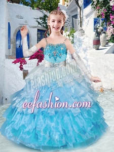 Customized Straps Mini Quinceanera Dresses with Ruffled Layers and Appliques