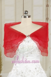 2014 New Style Beading Shawls in Red