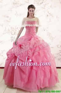 Ball Gown New Style Quinceanera Dresses with Beading