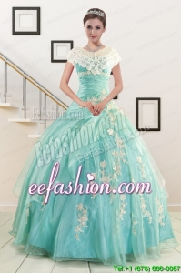 Ball Gown Sweetheart New Style Quinceanera Dresses with Appliques