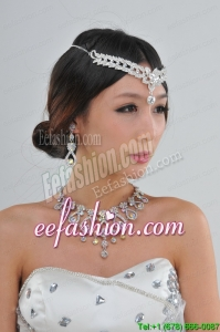 Elegant Colorful Rhinestones Alloy Jewelry Sets