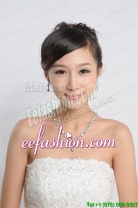 Imitation Pearl Wedding Jewelry sets in Silver on Sale
