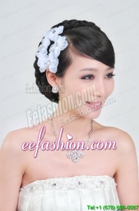 Wedding Jewelry Set Including Necklace And Headpiece