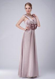 V-neck Ruching Mother Dress for Wedding