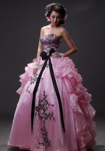 Fitted Cinderella Prom Dress For Graduation 2015