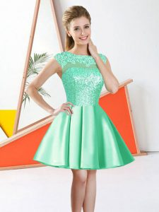Sleeveless Beading and Lace Backless Quinceanera Court Dresses