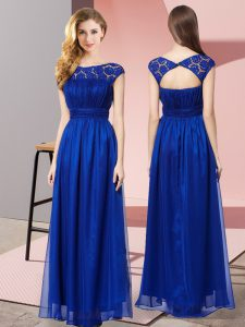 Inexpensive Tulle Sleeveless Floor Length and Lace