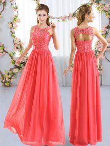 Sleeveless Lace Zipper Court Dresses for Sweet 16