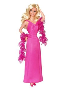 Satin Hot Pink Made to Fit the Barbie Doll