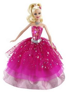 Beading Ball Gown Organza Colorful Barbie Doll Dress