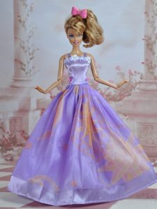 Pretty Handmade Princess Dress For Barbie Doll