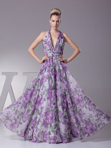 Plunging Neckline Long Ruched Mother of Bride Dresses with Beading