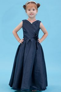 Ready to Wear Navy Blue Cinderella Pageant Dresses on Wholesale Price