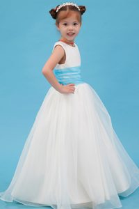 Beautiful A-line Scoop Organza Cinderella Pageant Dresses on Wholesale Price