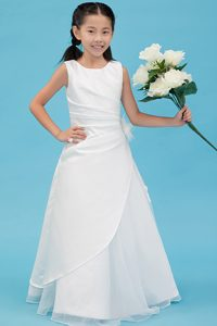 A-line Scoop Cinderella Pageant Dress with Appliques on Wholesale Price