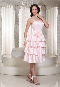 Wholesale Empire Ruffles Layered Tea-length Cocktail Dress in 2014 on Promotion