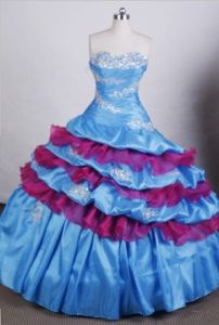 2013 Pretty Sweetheart Dresses for Quince with Appliques and Beading