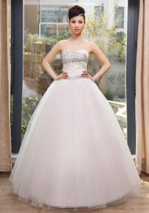 Sweetheart Designer Bridal Dress with Rhinestone Popular in 2013