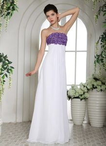 White Cheap Strapless Long Women s Evening Dresses