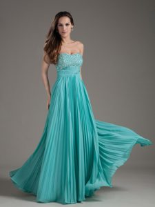 Empire Strapless Beaded and Ruched Pageant Evening Gowns on Wholesale Price