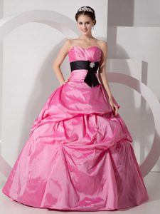 Popular Sweetheart Quinceanea Dress with Sash and Bowknot for Cheap