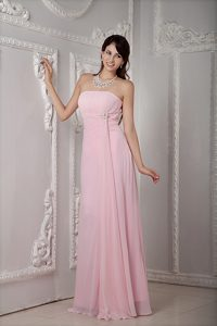 Cheap Baby Strapless Prom Dresses for Graduation Made with Beading