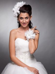 Headpieces Organza and Taffeta Wedding Bridal Wrist Corsage