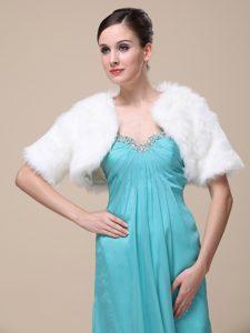 Gorgeous and Short-Sleeves For Special Occasion / Wedding Shawl Jacket
