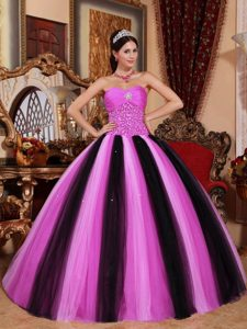 Multi-color Ball Gown Sweetheart Shining Beaded Quinceanera Dress